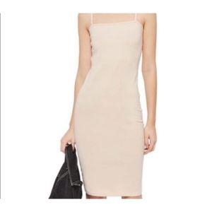Topshop Camisole Midi Dress
